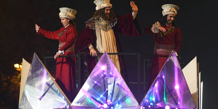 Les Rois mages défilent dans toute l'Espagne
