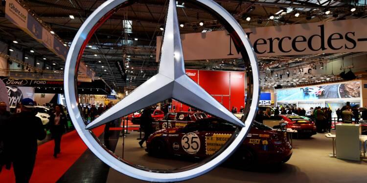 Mercedes-Benz se présente comme le champion 2017 du haut de gamme
