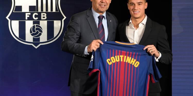 """Transfert: Coutinho entre """"rêve"""" et pression de l'après-Neymar"""