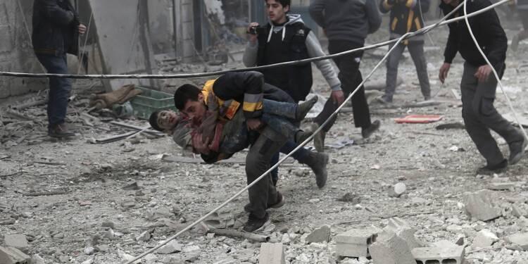 Syrie: le régime poursuit ses offensives dans deux bastions rebelles