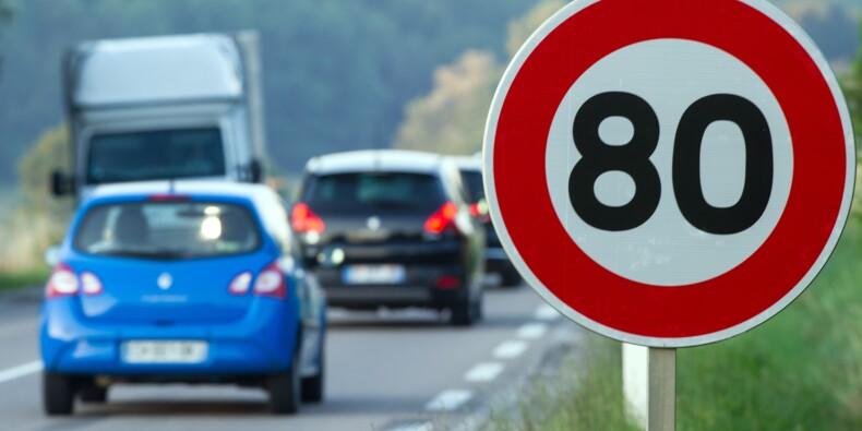 Le gouvernement abaisse à 80 km/h la vitesse sur les routes secondaires