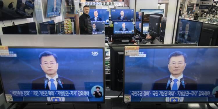 Le président sud-coréen évoque l'idée d'un sommet avec le Nord