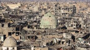 """Ruines et désolation à Mossoul, six mois après sa """"libération"""""""