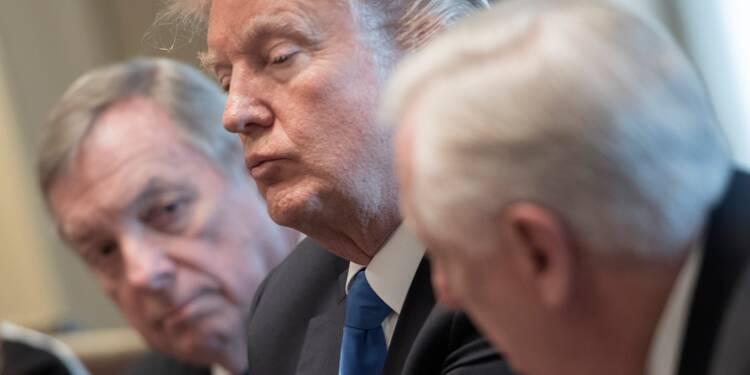 Jeunes sans-papiers: la justice s'en mêle, Trump scandalisé
