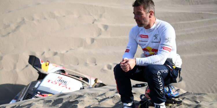 Dakar-2018 - Loeb stoppé net par le désert