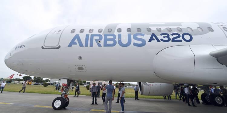 La Chine commande 184 Airbus A320 pour livraison 2019-2020