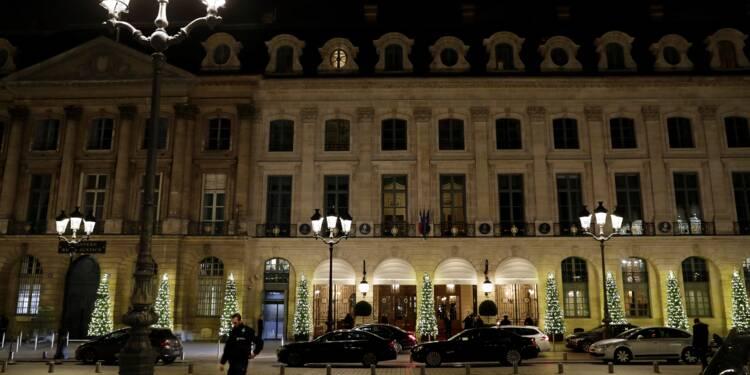 Braquage au Ritz: la totalité du butin retrouvée, deux suspects encore en fuite