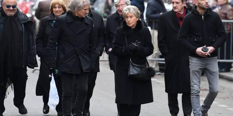 Inhumation de France Gall en présence des proches et de fans