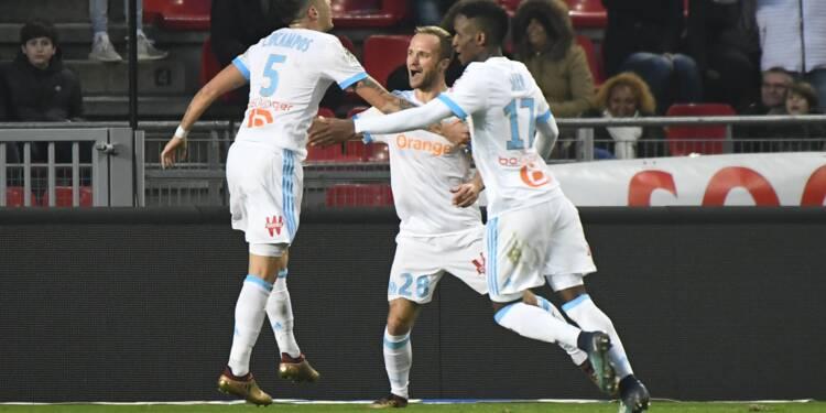 Ligue 1: Marseille, à égalité de points provisoire avec Monaco et Lyon