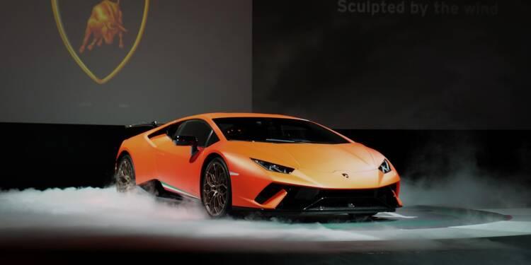 Dans l'usine Lamborghini, entre modernité et artisanat