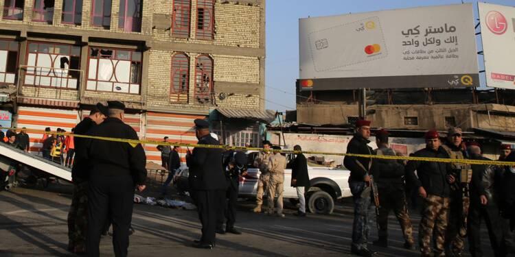 Irak: 26 morts dans un double attentat suicide au centre de Bagdad