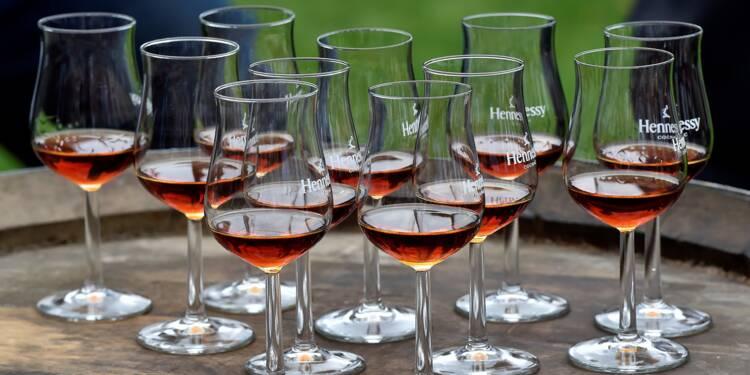 Cognac: troisième année successive de croissance des ventes, nouveaux records