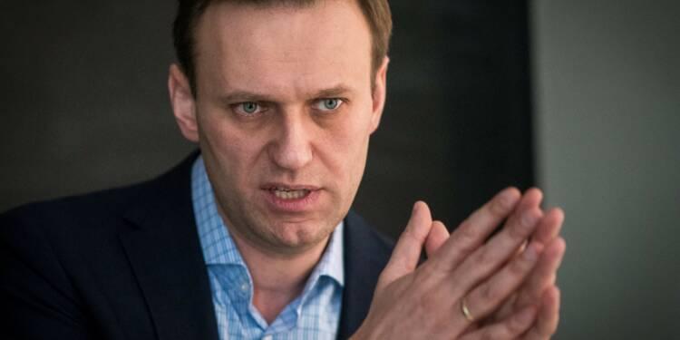 """Poutine veut devenir """"empereur à vie"""", affirme Navalny dans un entretien à l'AFP"""
