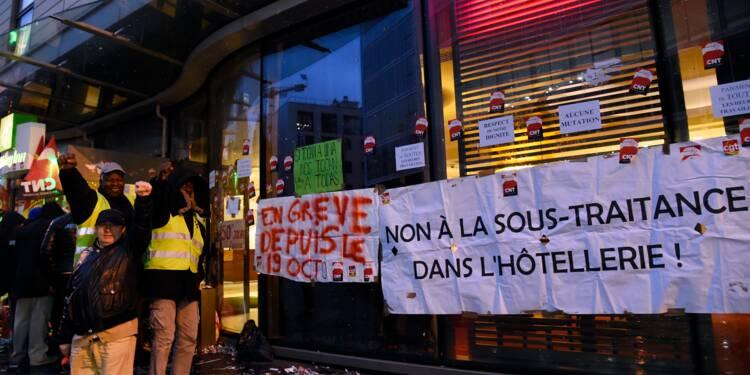 """Holiday Inn de Clichy : trois mois de grève et plus """"rien à perdre"""""""
