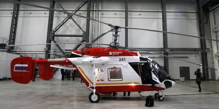 En Sibérie, une usine historique d'hélicoptères se tourne vers l'Inde