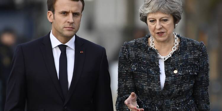 May et Macron à Sandhurst pour le 35e sommet franco-britannique
