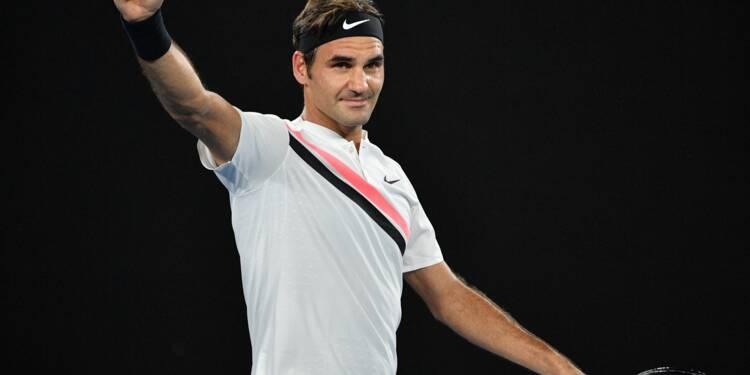 Open d'Australie: Roger Federer passe à la fraîche au 3e tour