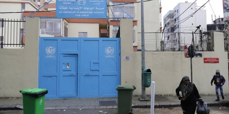 """Les coupes à l'UNRWA """"catastrophiques"""" pour les Palestiniens du Liban"""