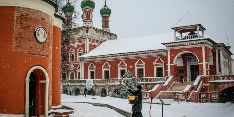Froid extrême en Sibérie à l'approche de l'Epiphanie orthodoxe