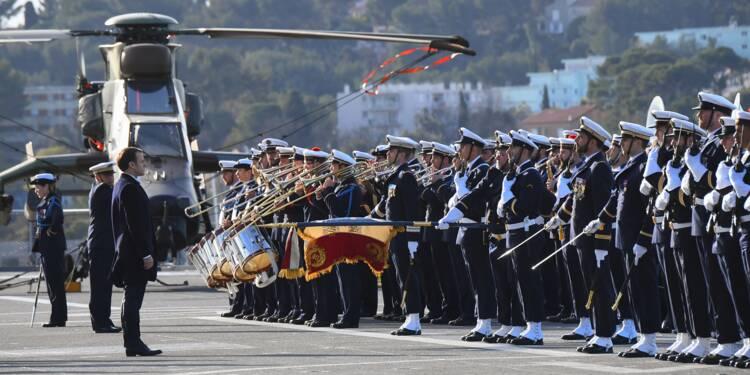 """Macron veut rassurer les Armées, avec un effort budgétaire """"inédit et incomparable"""""""