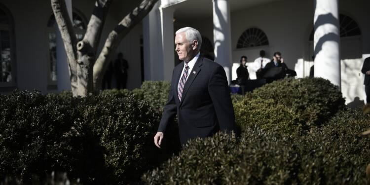Première tournée au Proche-Orient sous tension pour Mike Pence