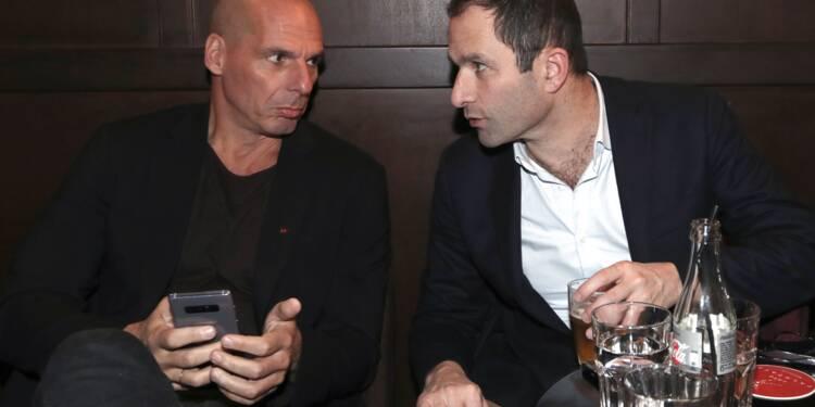 Européennes: Hamon et Varoufakis veulent des listes sur un programme commun