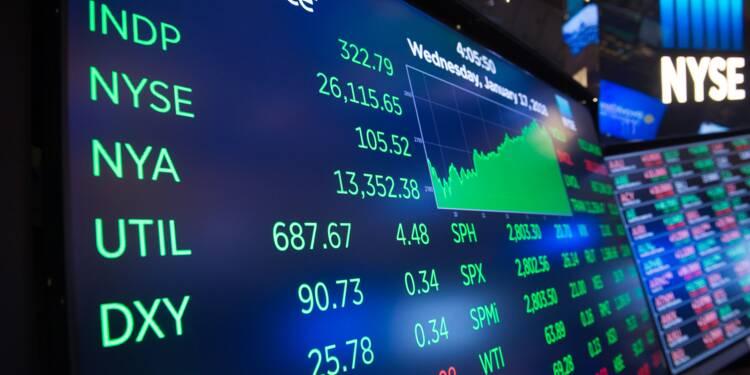 """Wall Street, soulagée par la fin du """"shutdown"""", termine à des records"""