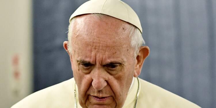 Le pape présente des excuses aux victimes d'abus sexuels