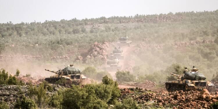 Offensive turque en Syrie: combats entre forces turques et kurdes