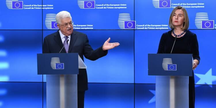 Mahmoud Abbas exhorte les Européens à reconnaître la Palestine