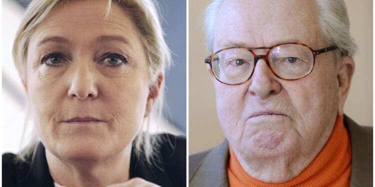Marine Le Pen rompt avec son père sans rebaptiser tout de suite le parti
