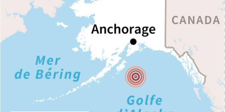 Un séisme de magnitude 8,2 au large de l'Alaska déclenche des alertes au tsunami
