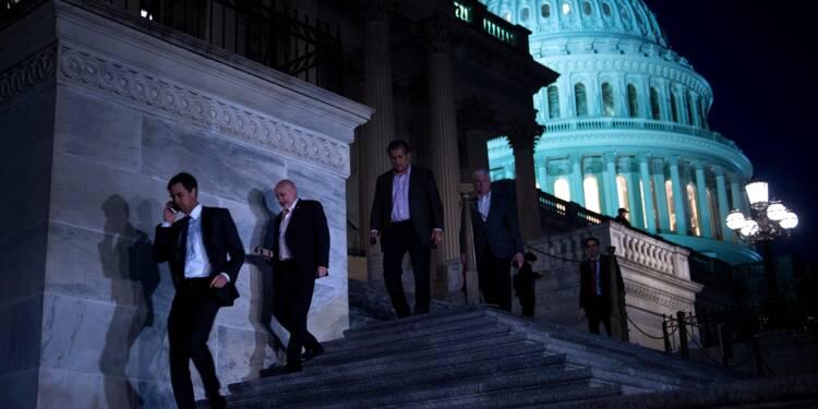 Etats-Unis: compromis temporaire sur le budget, Trump crie victoire