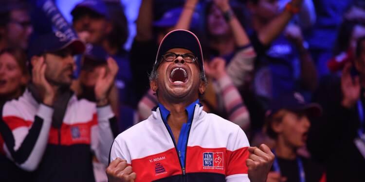 Coupe Davis: dernière campagne pour Noah, qui rêve de doublé