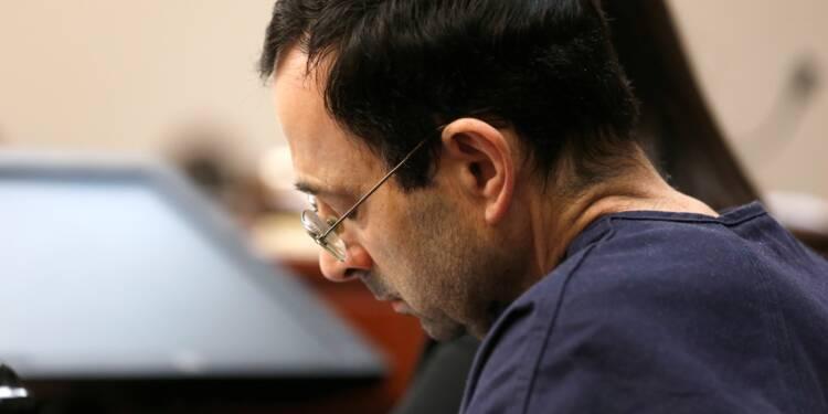 Gymnastique: Nassar condamné à une peine de 40 à 175 années de prison