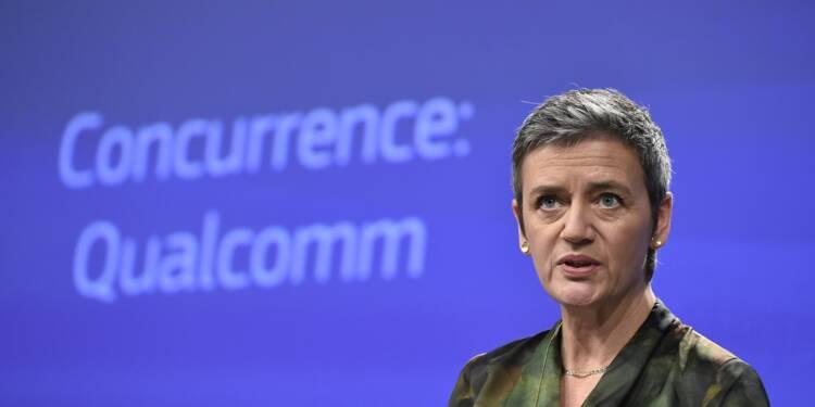 L'UE inflige près d'un milliard d'euros d'amende à Qualcomm, fournisseur d'Apple