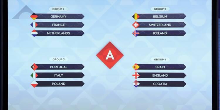 Ligue des nations: du lourd pour la France avec l'Allemagne et les Pays-Bas