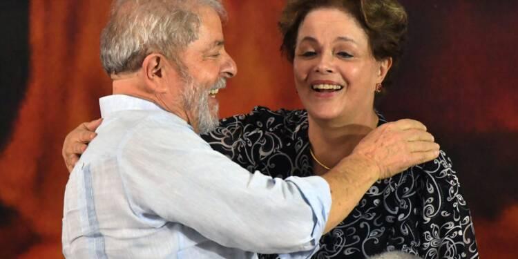 Lula adoubé par son parti pour la présidentielle au Brésil