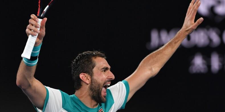 Open d'Australie: première finale à Melbourne pour Marin Cilic
