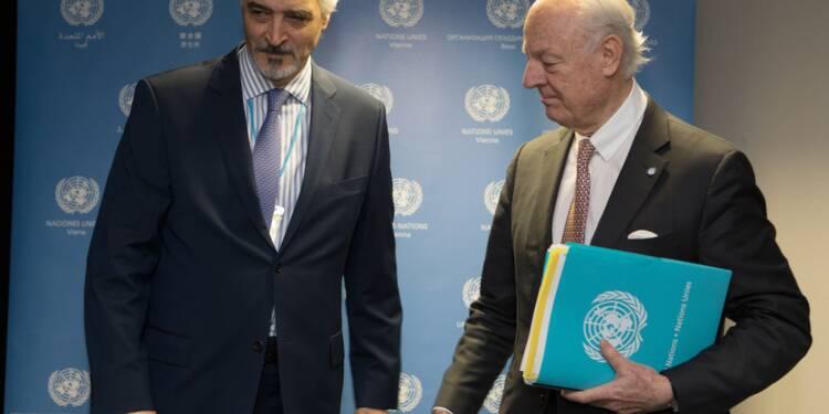 """Syrie: pourparlers du """"dernier espoir"""" à l'ONU à Vienne"""
