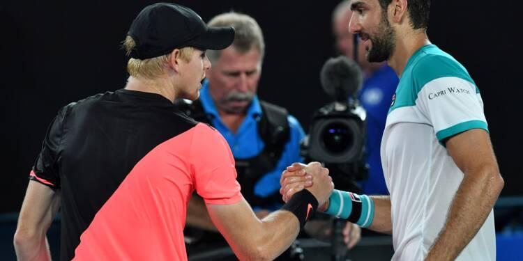 Open d'Australie: Cilic attend Federer... ou Chung
