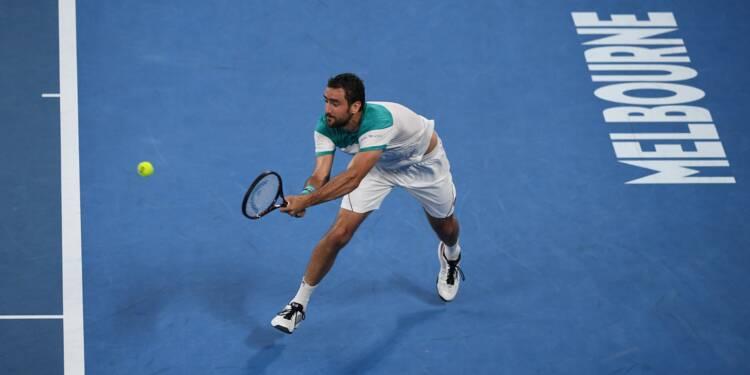 Open d'Australie: Cilic se qualifie pour sa première finale à Melbourne