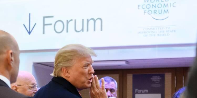 """Trump va plaider à Davos pour un commerce mondial """"ouvert"""" mais """"équitable"""""""