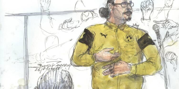 """""""Vous? C'est même pas la peine!"""": à la barre, Jawad Bendaoud charge les avocats des victimes"""