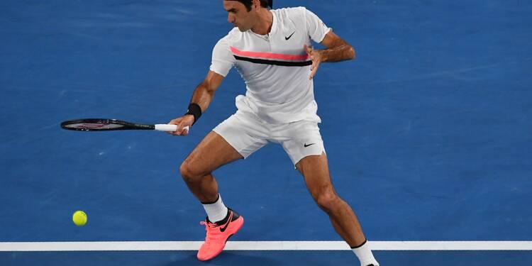 Open d'Australie: Federer en finale pour la 30e fois après une demie tronquée