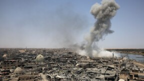 """La coalition frappe """"par erreur"""" des forces irakiennes: huit morts"""