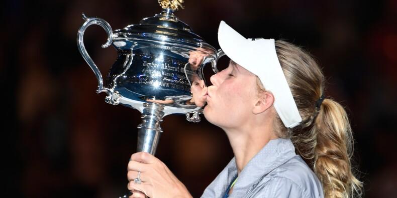 Open d'Australie: Wozniacki enfin sacrée en Grand Chelem