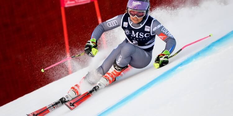 Ski: Tessa Worley remporte le slalom géant de Lenzerheide