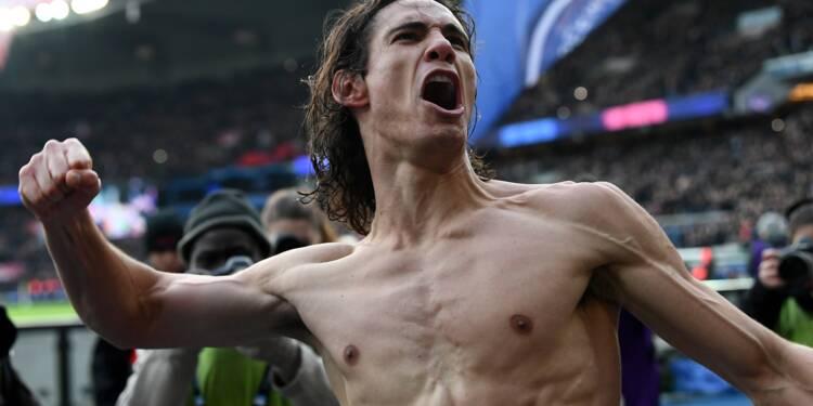 Ligue 1: Paris retrouve le sourire en écrasant Montpellier et le record de Cavani