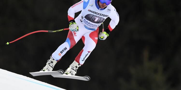 Ski: le Suisse Beat Feuz vainqueur de la descente à Garmisch